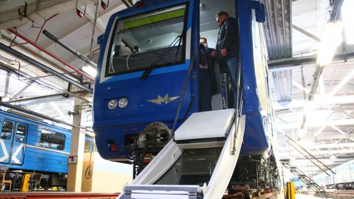 В самарском метро выпустят на маршрут новый поезд