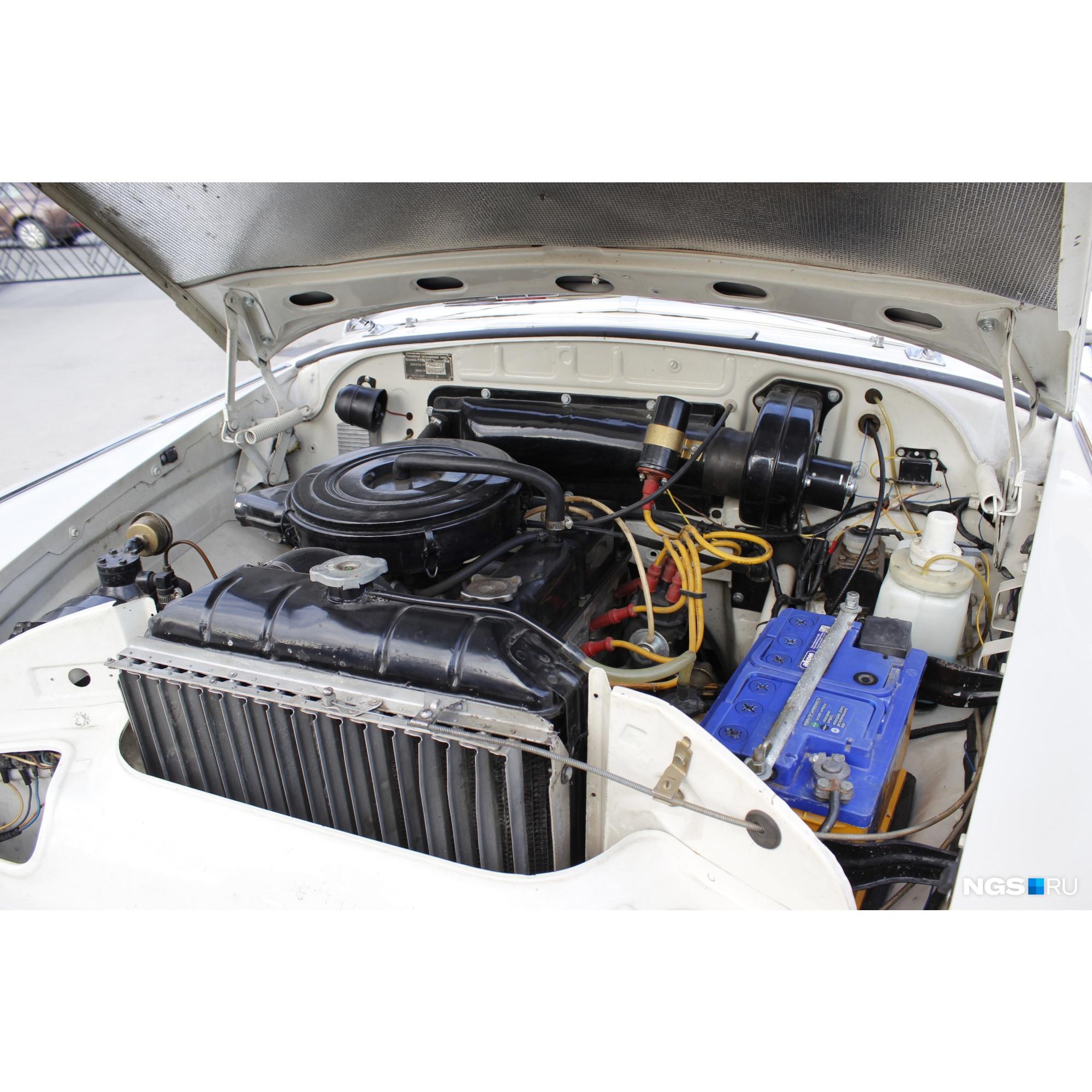 Отремонтирован радиатор
