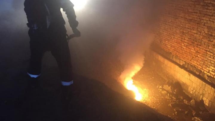 Угроза не миновала: что спровоцировало ядовитый пожар на бывшем химзаводе «Фосфор»