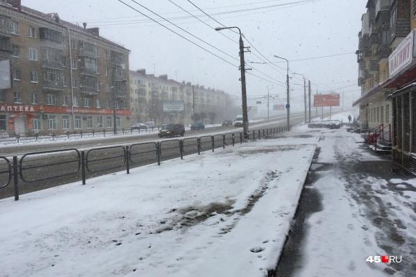 В Зауралье временно ограничили движение автобусов из-за плохой погоды