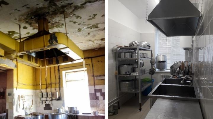 «Всё блестит от чистоты»: в Няндоме отремонтировали пищеблок, из-за которого оштрафовали больницу