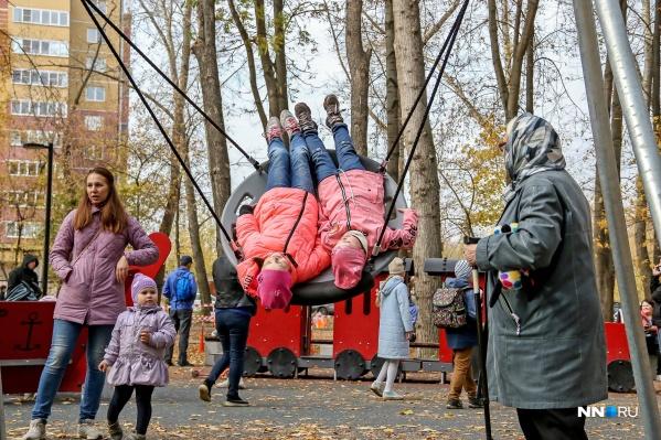 Мест отдыха становится в Нижнем Новгороде всё больше