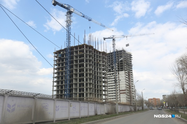 Два дома на Шевченко должны были сдать несколько лет назад