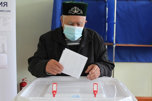 Избирательные участки были открыты в районах