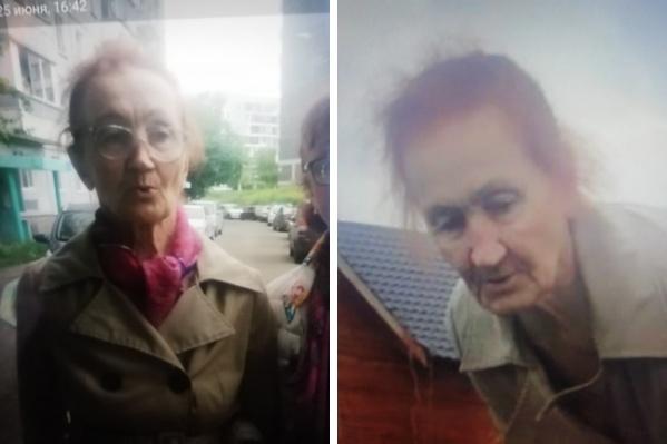 Бабушка пропала вчера вечером