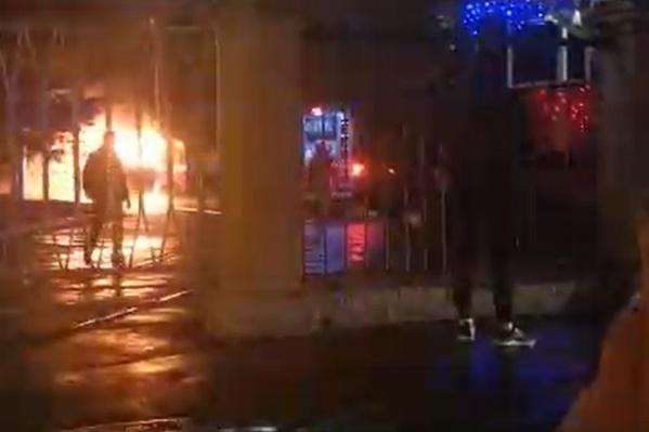 Площадь пожара составила 20 кв. метров