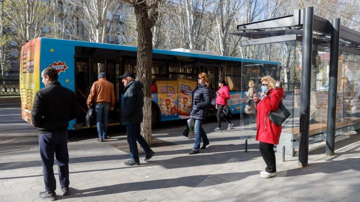 В Волгограде рухнул индекс самоизоляции