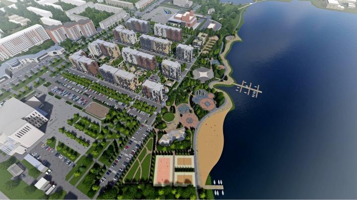 В Северодвинске объявили конкурс на разработку концепции парка на берегу озера Театрального