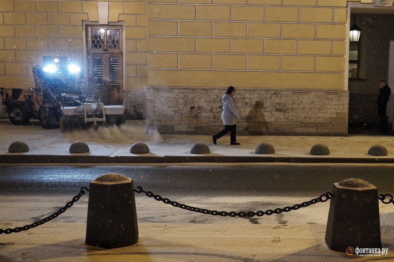 ...под самый финал календарной зимы припорошенной снегом.Санкт-Петербург, 28 февраля 2020 года