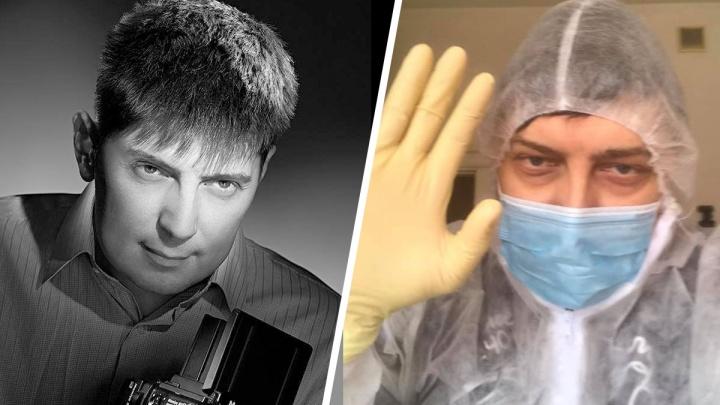 В Екатеринбурге умер известный фотограф Илья Строков. У него был коронавирус