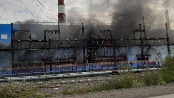 В пожаре на норильской ТЭЦ-2 погиб рабочий