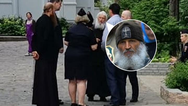 Полиция проверила монастырь, в котором осел схиигумен Сергий