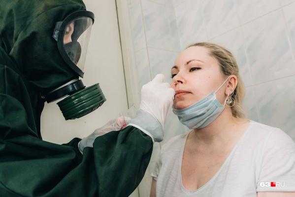 Тест на коронавирус— очень неприятная процедура
