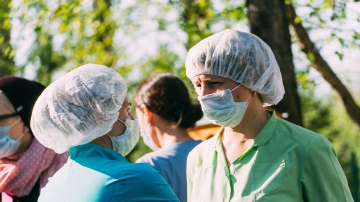 Во время пандемии коронавируса омичи стали в два раза чаще болеть пневмонией