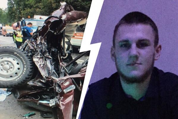 В ДТП погиб 19-летний спасатель