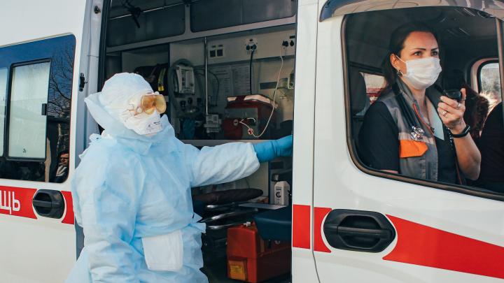 В Омске скорая не будет приезжать на вызовы к пациентам с температурой