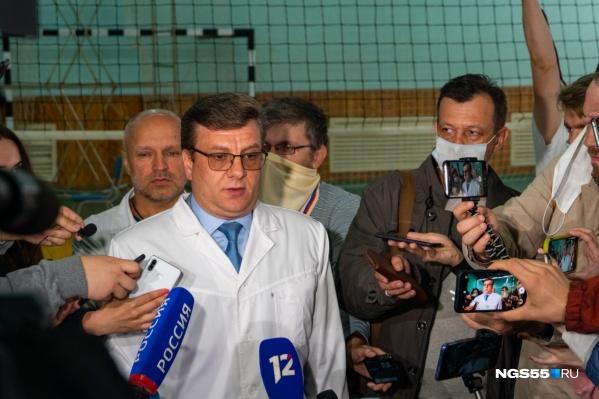 Мураховский стал известен на весь мир после госпитализации Алексея Навального