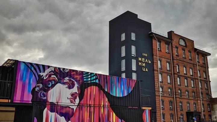 На новосибирской улице появился знаменитый Давид Микеланджело