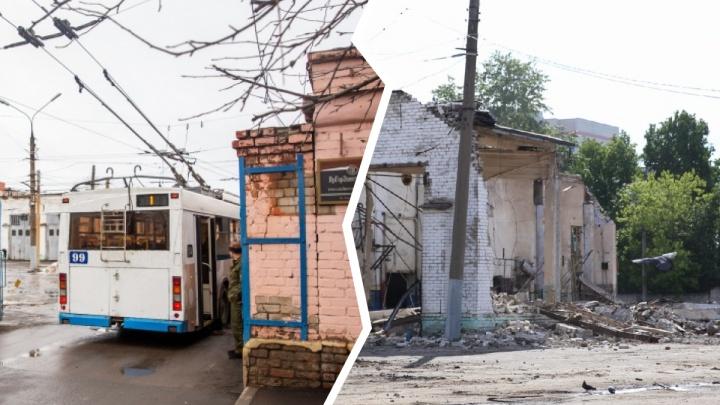 Кирпичи летят: что осталось на месте единственного троллейбусного депо в центре Ярославля