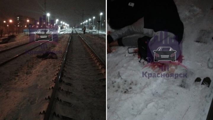 «Был в наушниках и капюшоне»: у «Белых Рос» молодого парня сбил поезд