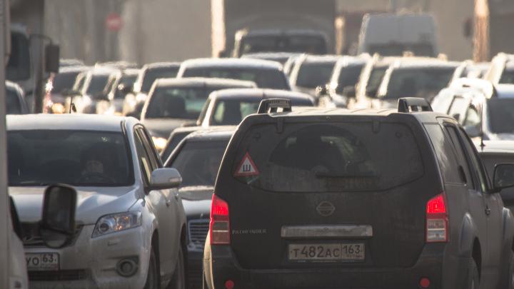В Самаре частично отменят транспортный налог для некоторых авто