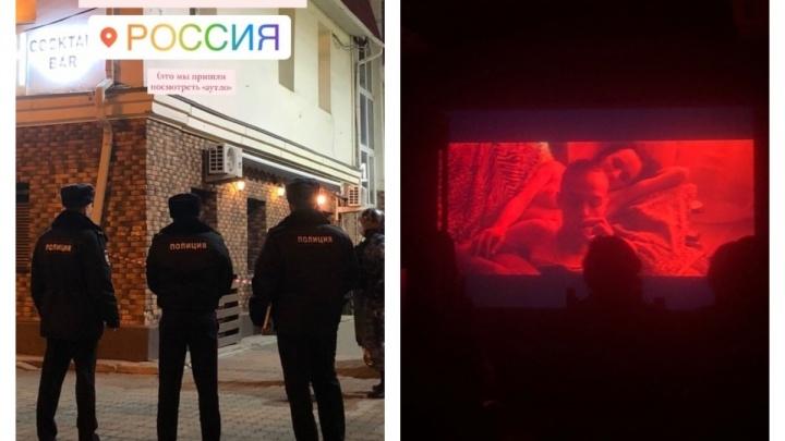 В Екатеринбурге силовики нагрянули на площадку, где шел показ скандального ЛГБТ-фильма