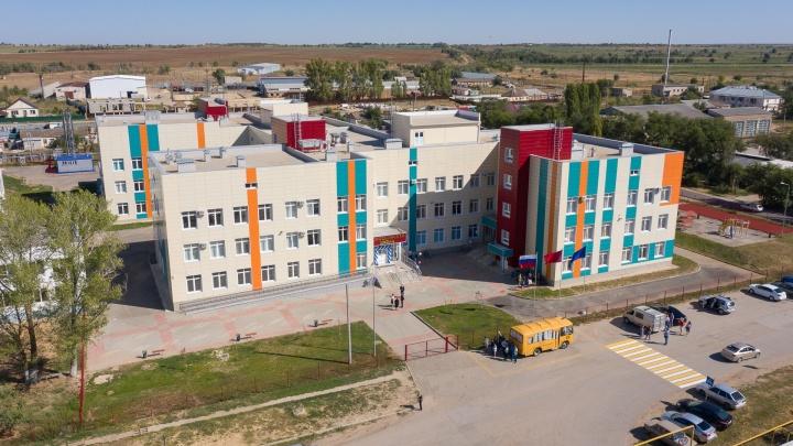 «Посмотрите в эти глаза»: смотрим открытие новой школы под Волгоградом
