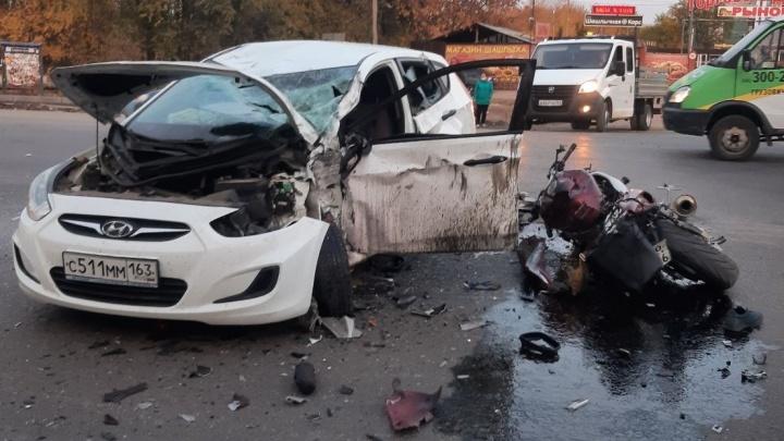 «Мотоциклист не виноват»: полиция о смертельном ДТП на Пугачевском тракте