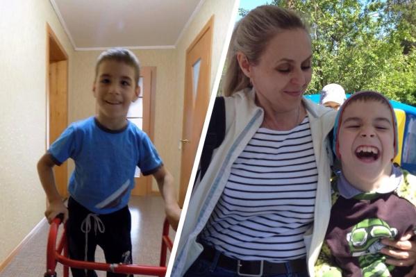 Сыну Светланы диагностировали ДЦП, когда ему было 9 месяцев — мальчик не может ходить