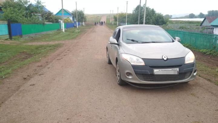 В Башкирии пьяный водитель насмерть сбил подростка