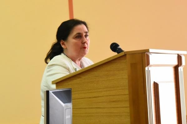 Римма Шатовкина возглавляла областной суд с октября 2012 года