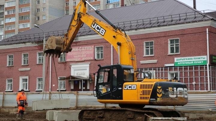 В Уфе на полмесяца перекроют самый оживленный участок улицы Комсомольской