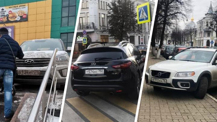 Царь горы и дворовый проныра: топ самых дерзких нарушителей парковки в Ярославле