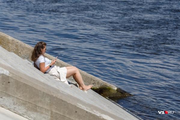 В жару лучше всего держаться поближе к воде
