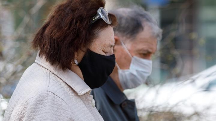Волгоградская область второй день в топ-10 регионов России по числу заразившихся коронавирусом
