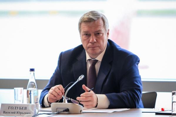 Голубев рассказал о том, что сейчас происходит в регионе
