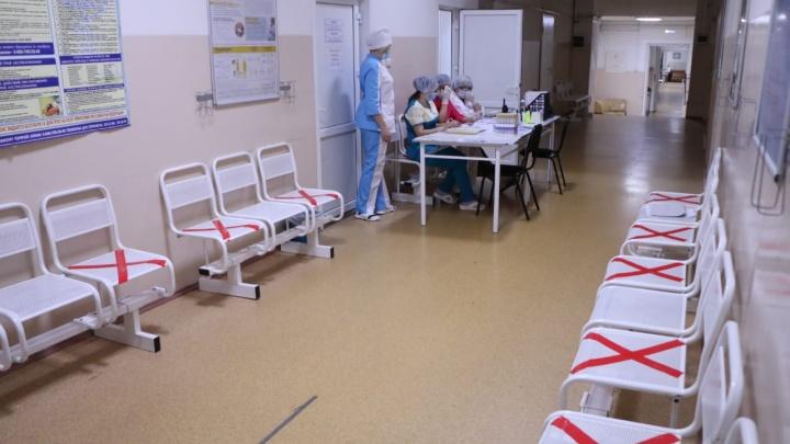 Госпиталь ветеранов войн снова начал принимать пациентов с коронавирусом