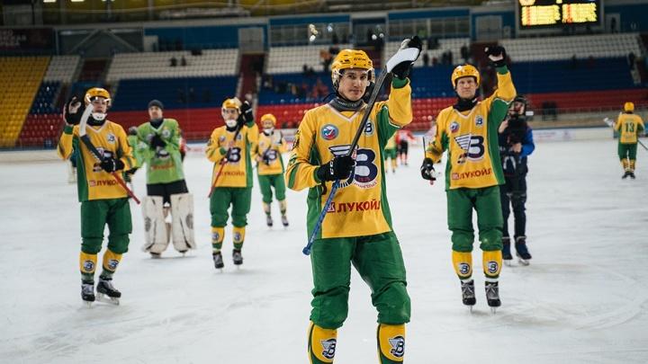 Матч за 3-е место чемпионата России по бенди с участием «Водника» отменили из-за коронавируса