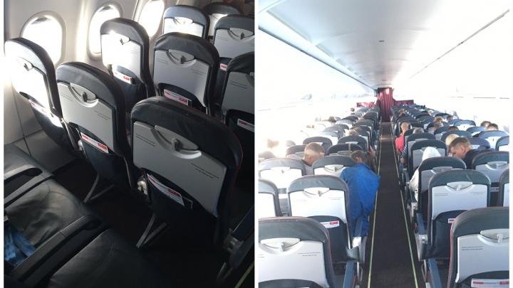 «Уральские авиалинии» сажают пассажиров рядом друг с другом, несмотря на коронавирус. Это нарушение?