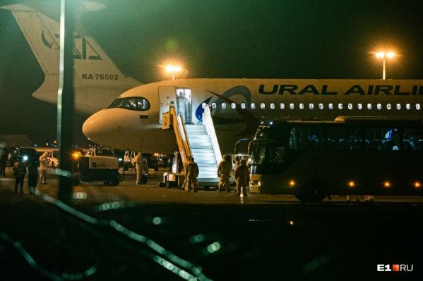 В Екатеринбург прилетели 49 пассажиров, остальные вышли в Ростове