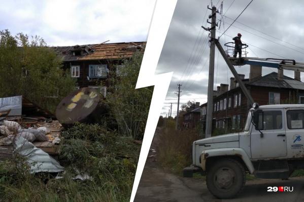 Жильцов дома № 123 на улице Франко пришлось временно расселить после шторма