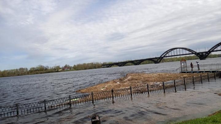 Рыбинское водохранилище переполнено: Ярославскую область топит со страшной силой