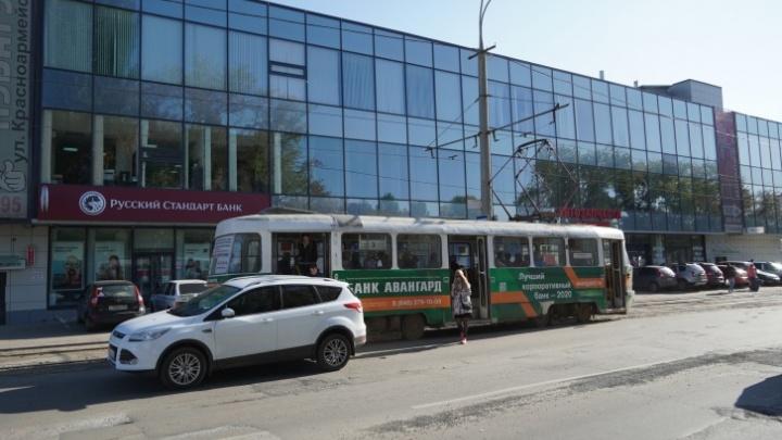 Самарские власти уточнили, когда откроют новую трамвайную остановку на кольце у дома печати