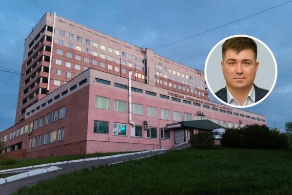 Сергей Черненко работает торакальным хирургом в больнице имени Кабанова