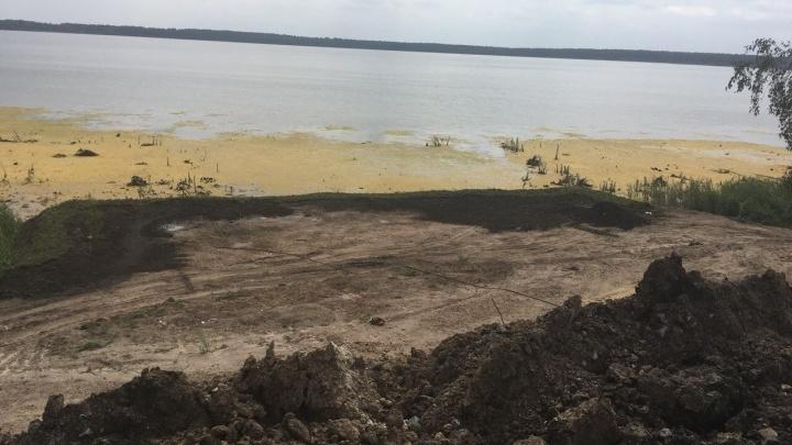 Зауральца, начавшего стройку на озере Горькое-Виктория, приговорили к обязательным работам