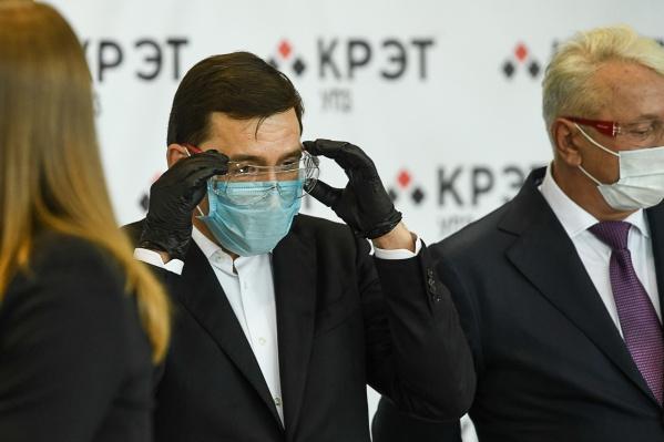 Губернатор рассказал, что формадекларации о санэпидбезопасности сейчас разрабатывается