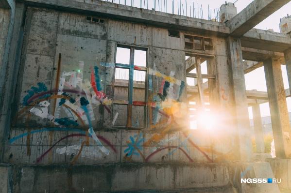 — Граффити подразумевают недолговечность наших работ. Создавая любой рисунок, мы всегда понимаем, что на утро его уже может не быть, — рассказала Вита, один из авторов проекта