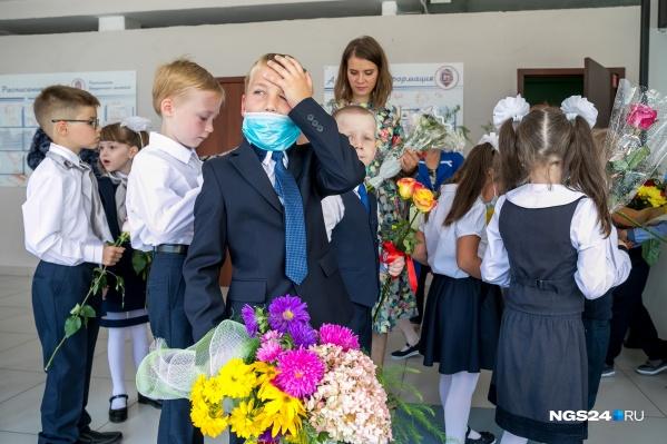 Страшно представить, что дети не были в школе почти полгода!