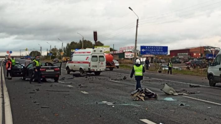В Кстовском районе произошла массовая авария, погибли 5 человек