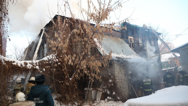 В Самаре в сгоревшем доме на Вилоновской нашли двух погибших женщин